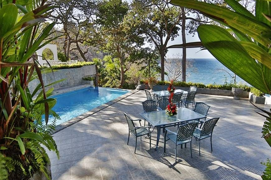 luxury and ocean front home in flamingo beach costa rica mls rh pinterest it