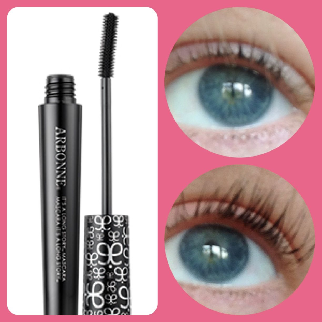 21469b632b8 Love this - #Arbonne It's a Long Story Mascara. Before and after (and yes  that is my eye :D)