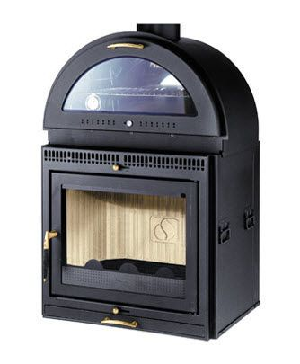 Wood Burning Fireplace Insert With Oven For The Remodel Wood