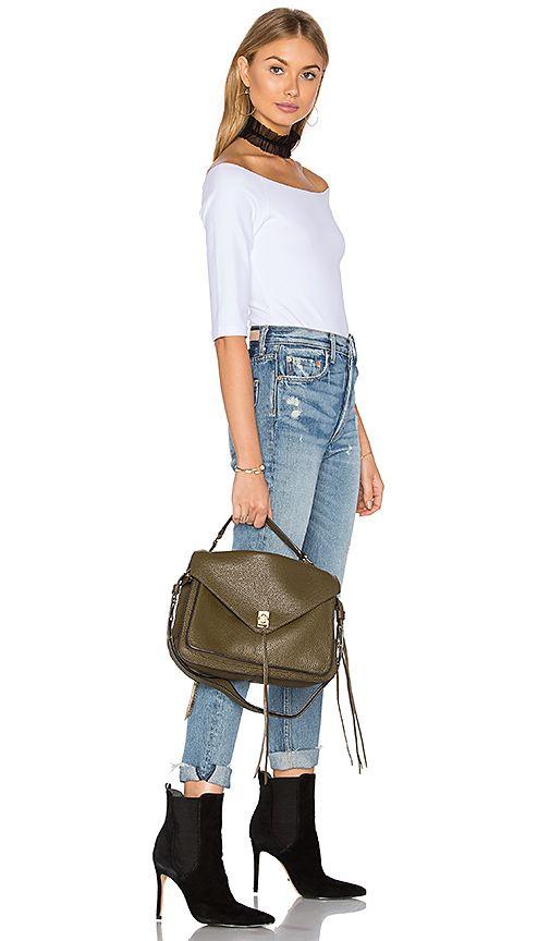 fc0868baa710 Shop for Rebecca Minkoff Darren Messenger Bag in Olive at REVOLVE. Free 2-3  day…