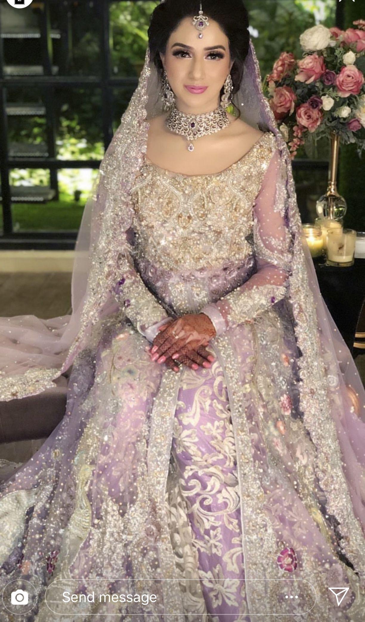 Valima Bride Asian Wedding Dress Pakistani Bridal Wear