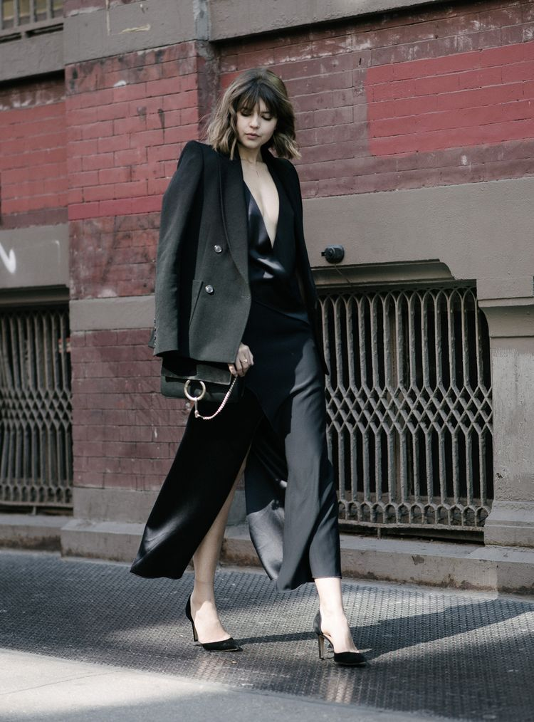 Black Meets Navy On the Streets Of NYC