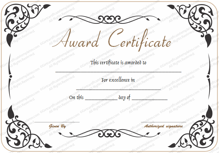 Free Printable Certificate Of Recognition  Google Search  Imad