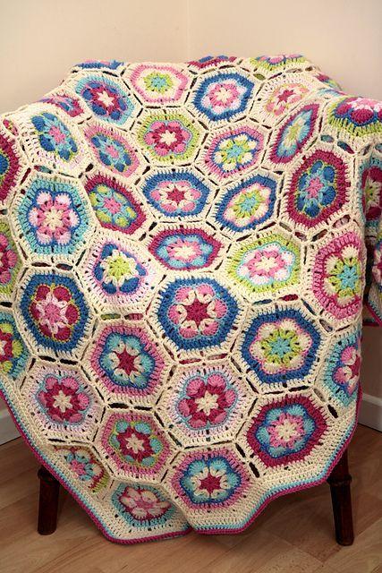 Granny Squares Crochet Pinterest Breien Deken Haak And Haken