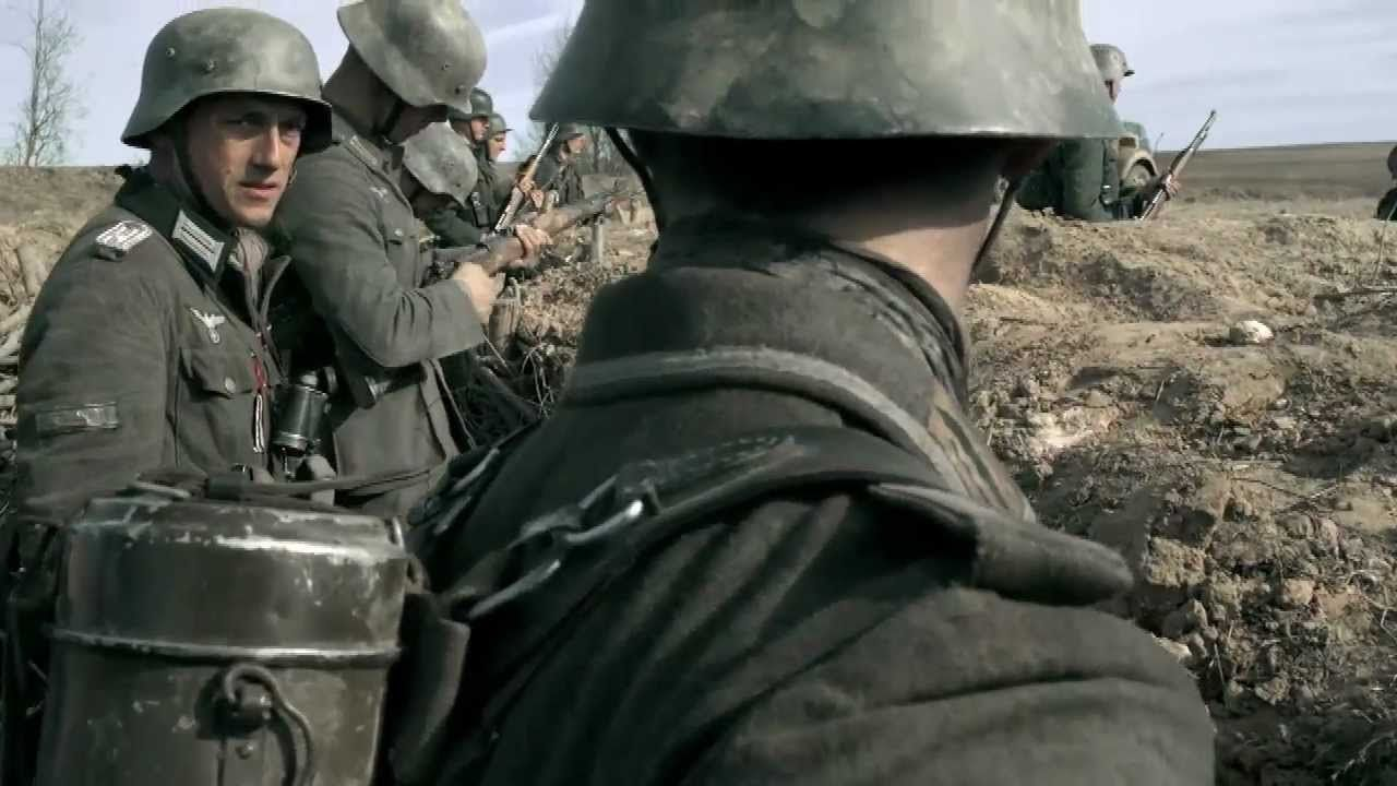 German Wehrmacht soldiers and officers in action 3 ...