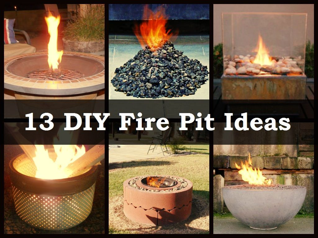 13 diy fire pit ideas homegoods pinterest diy fire pit
