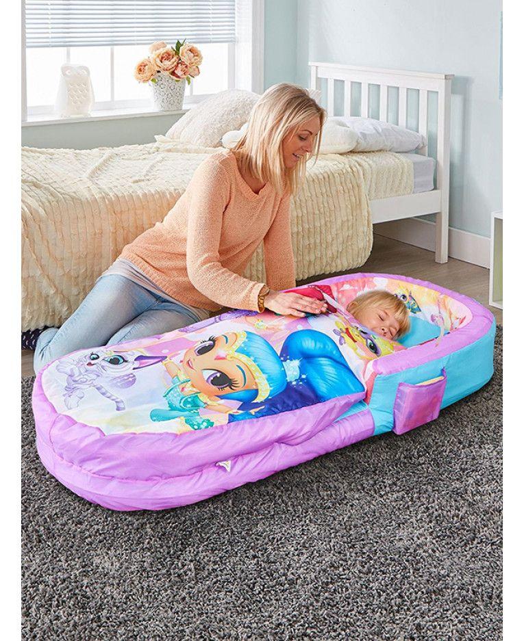 Ez Bed Letto Gonfiabile.Disney Princess Junior Ready Bed Sleepover Solution Toddler