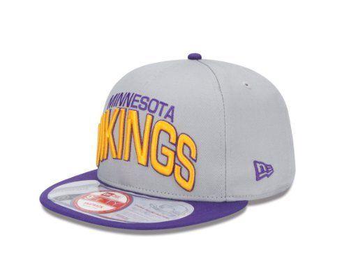 quality design 65e91 3d259 NFL Minnesota Vikings NFL Reverse Arch Snap 9Fifty by New Era.  11.81. 100%