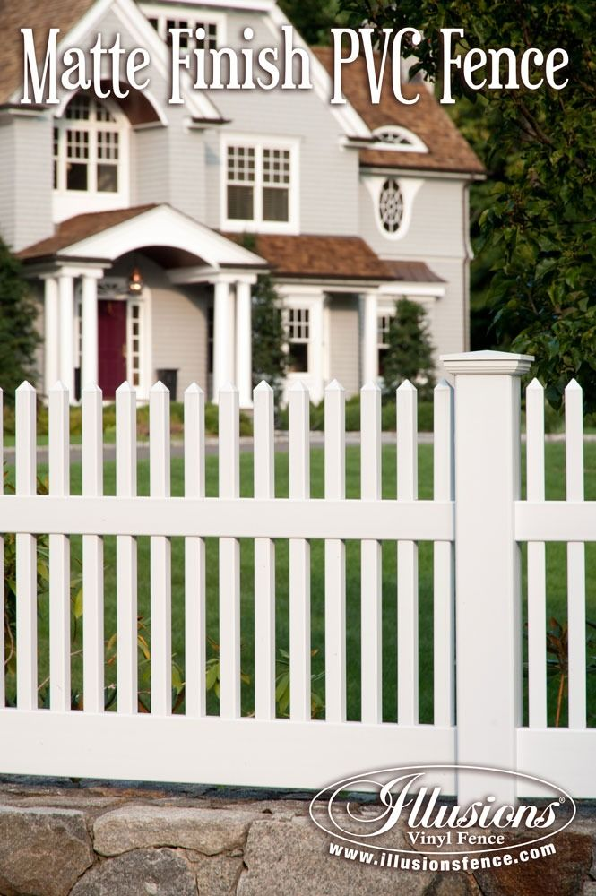 New Fence Ideas Incredible Matte Finish White