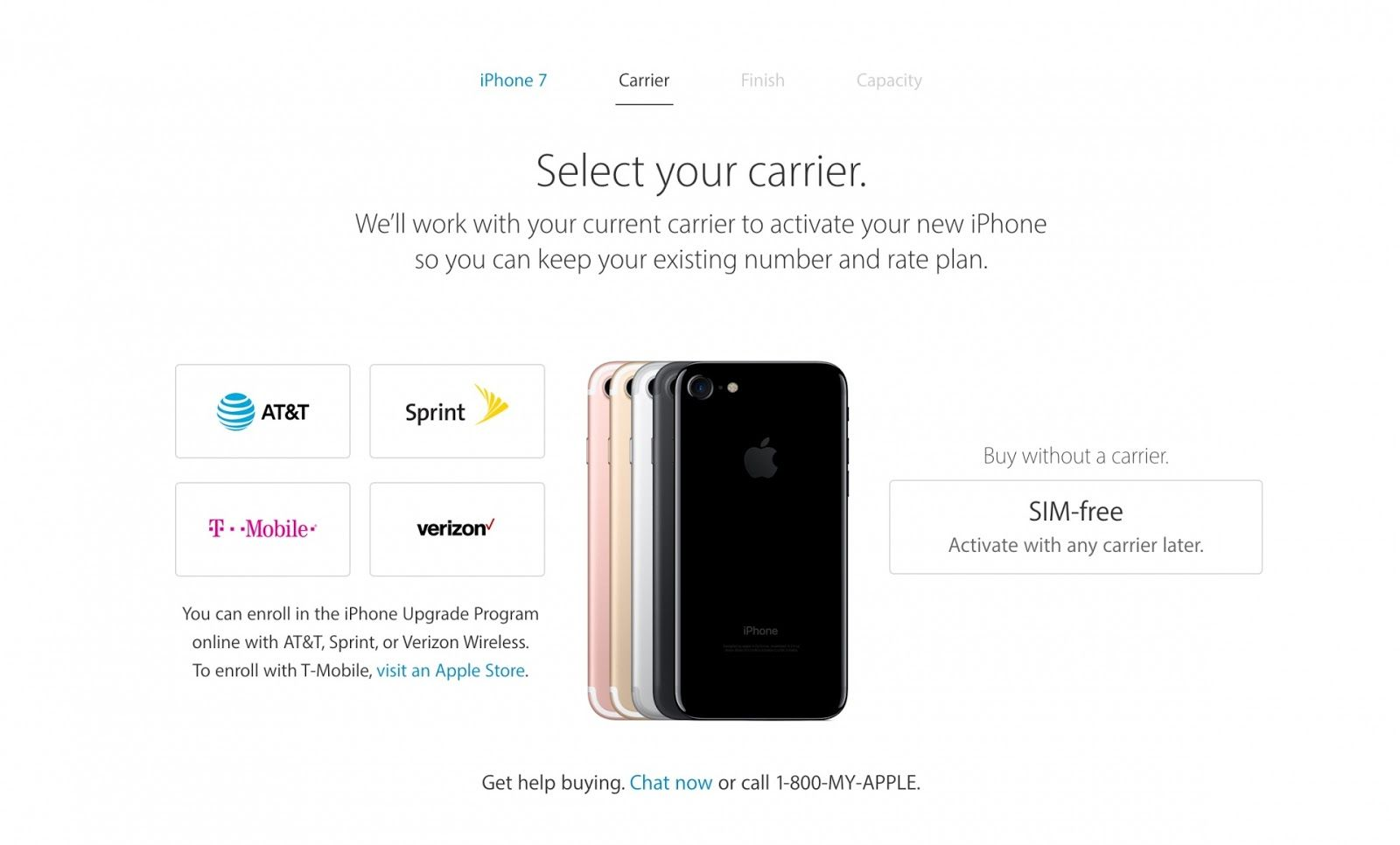 Apple is Now Selling an Unlocked SIM Free iPhone 7 in the U.S.