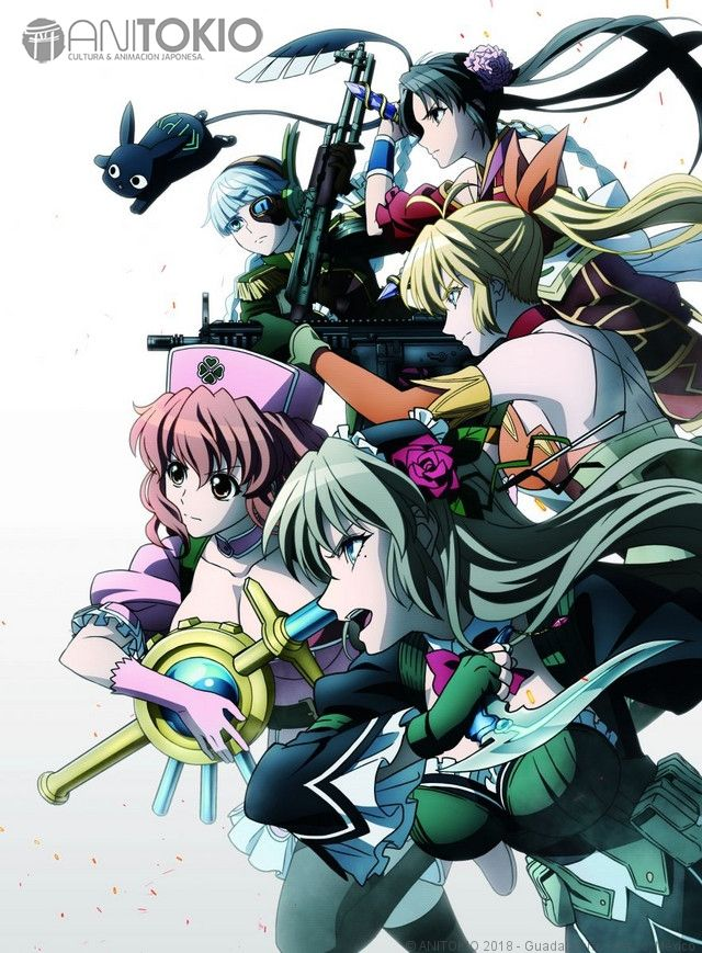 El anime Magical Girl Special Ops Asuka revela más voces