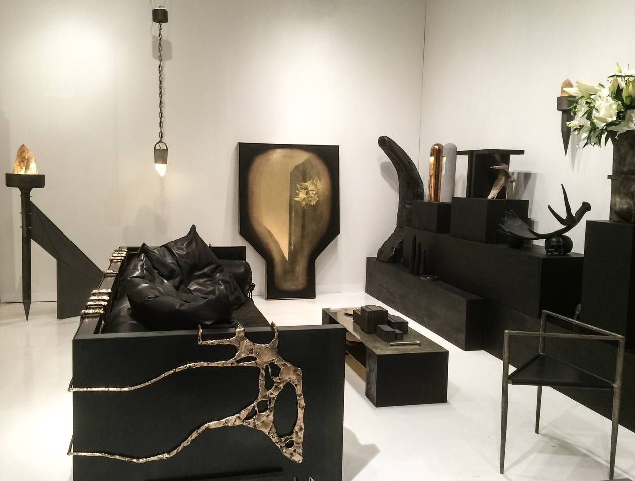 Exo sofa floor mirror mirror floor and polished brass
