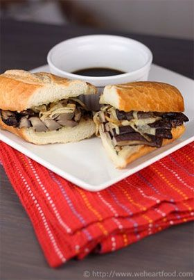 French Dip a la Cafe Flora