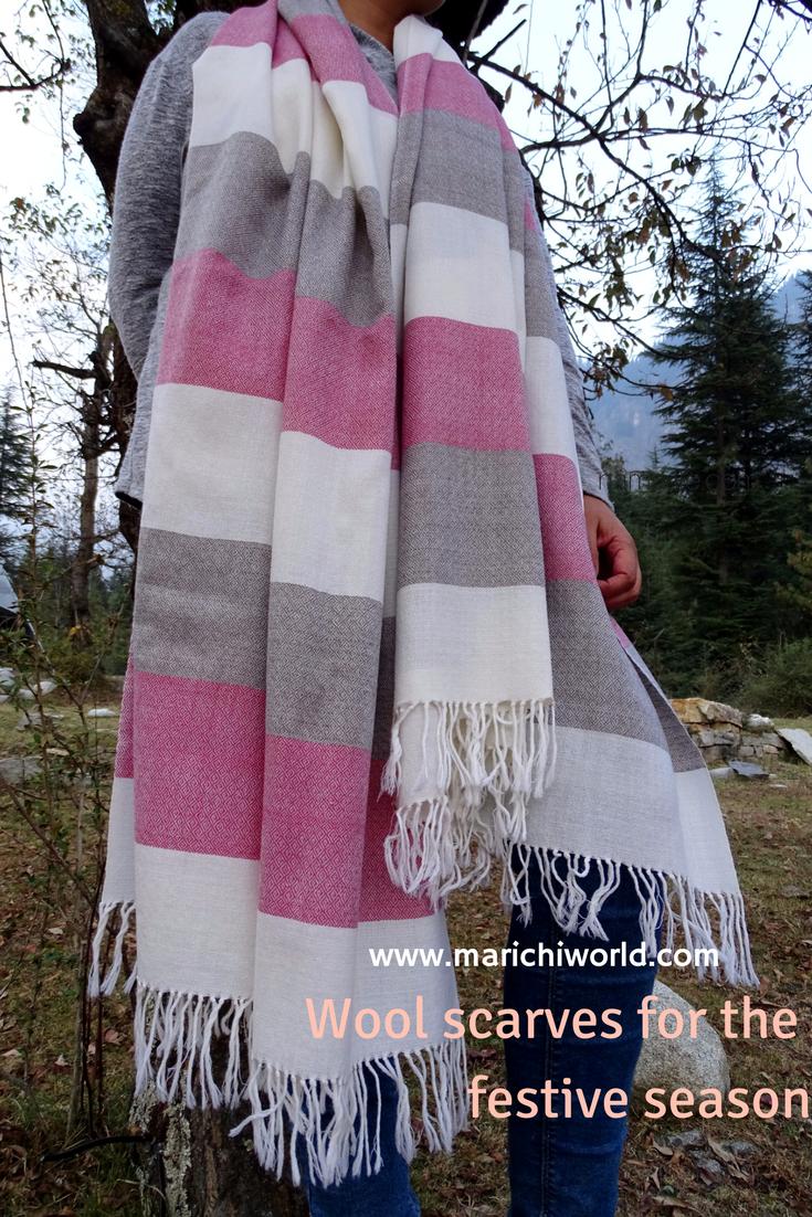 wool scarf, christmas gift ideas, blanket scarf, wool shawl | diy ...