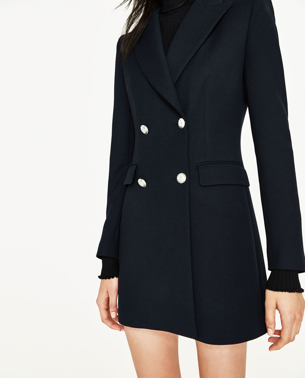 9c495144 DOUBLE BREASTED FROCK COAT-BLAZERS-WOMAN | ZARA United States ...