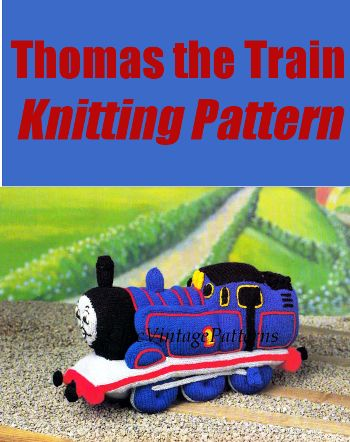 Thomas The Train Knitting Pattern Affiliate Link Knitting
