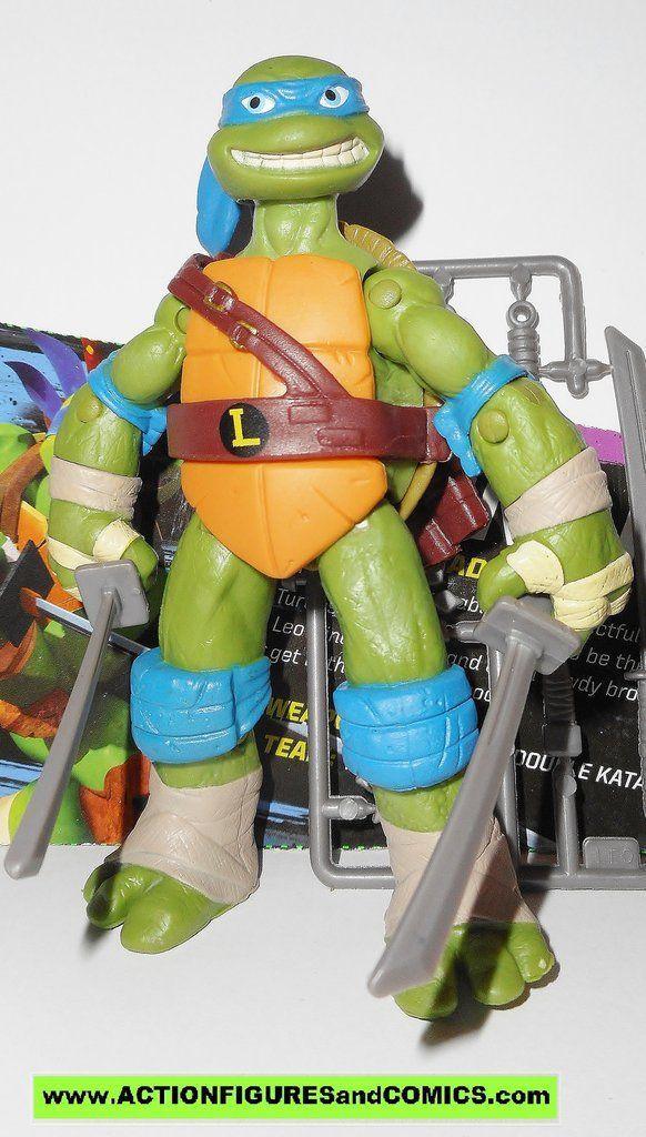 Teenage Mutant Ninja Turtles Leonardo Leo 2012 Eyes Nickelodeon