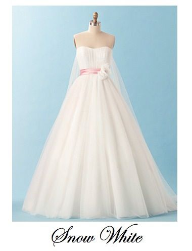SECOND CHOICE - Alfred Angelo - Snow White wedding dress - So ...
