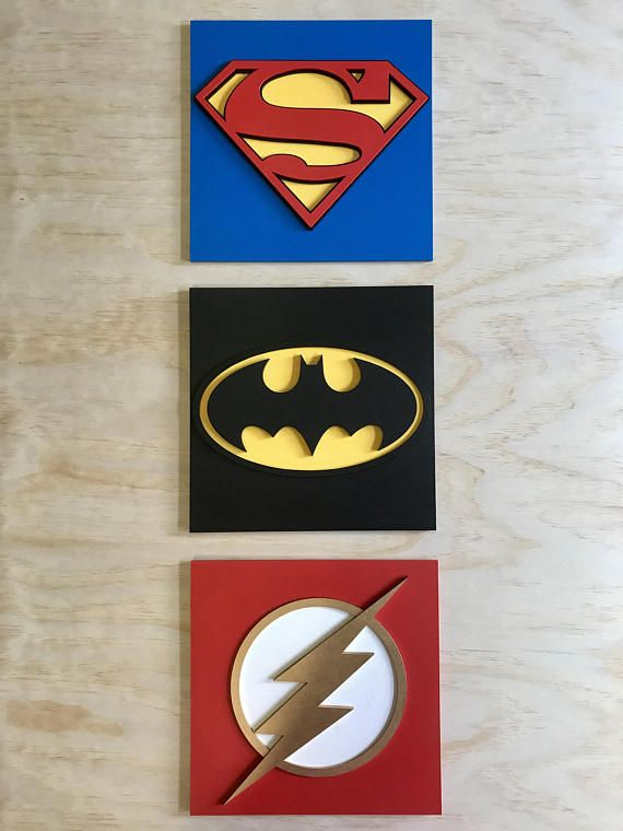 Superhero wall art Hulk Ironman Captain America Thor