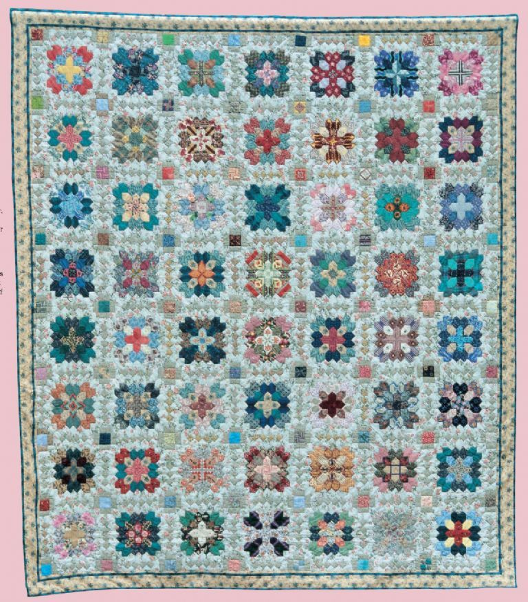 Instructions for Patchwork of the Crosses, inspired by Lucy Boston quilt. Quilt ideas ...