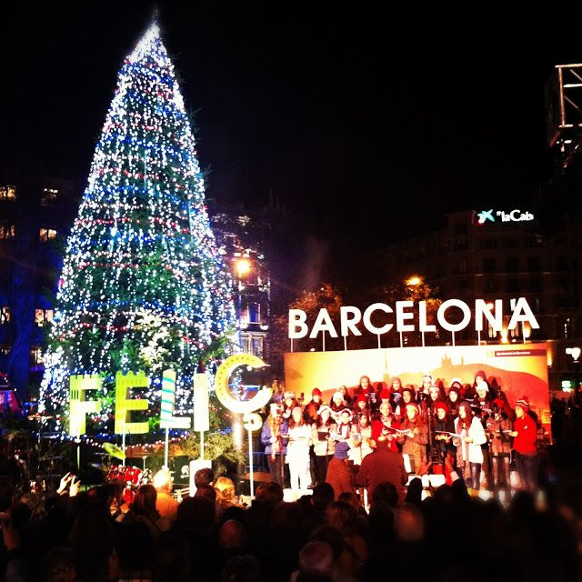 Christmas In Barcelona Spain.Christmas Barcelona Places I Want To Visit Barcelona