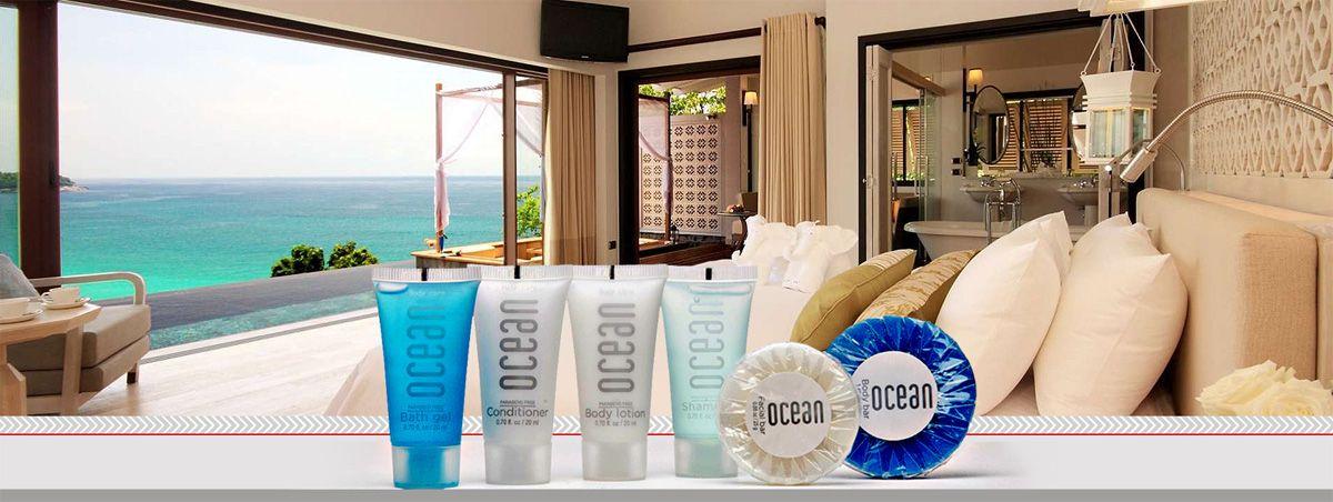 Nuestras amenidades Ocean las mas vendidas a razon de su precio y su color y practicidad.