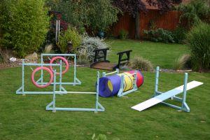 DIY Backyard Dog Agility