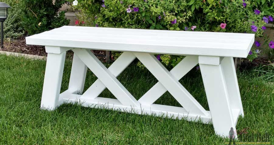 How To Build An Outdoor Bench Woodworking Bench Diy Bench