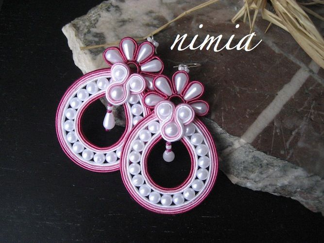 Sweet Soutache Earrings    by Nimia's Creations