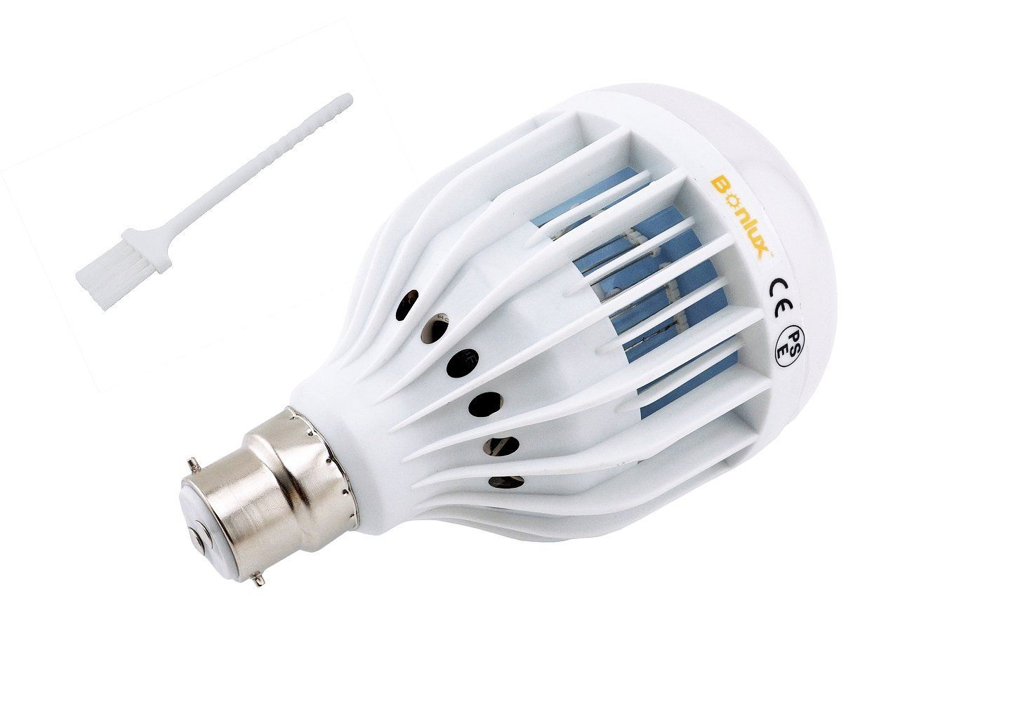 Bonlux B22 UV LED Bug Zapper Light Bulb Cool White BC Bayonet Cap 10W LED  Indoor