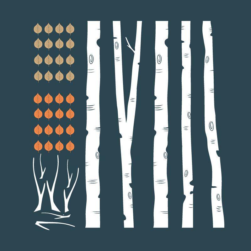 Items Similar To Wall Decal Birch Trees Vinyl Art Sticker