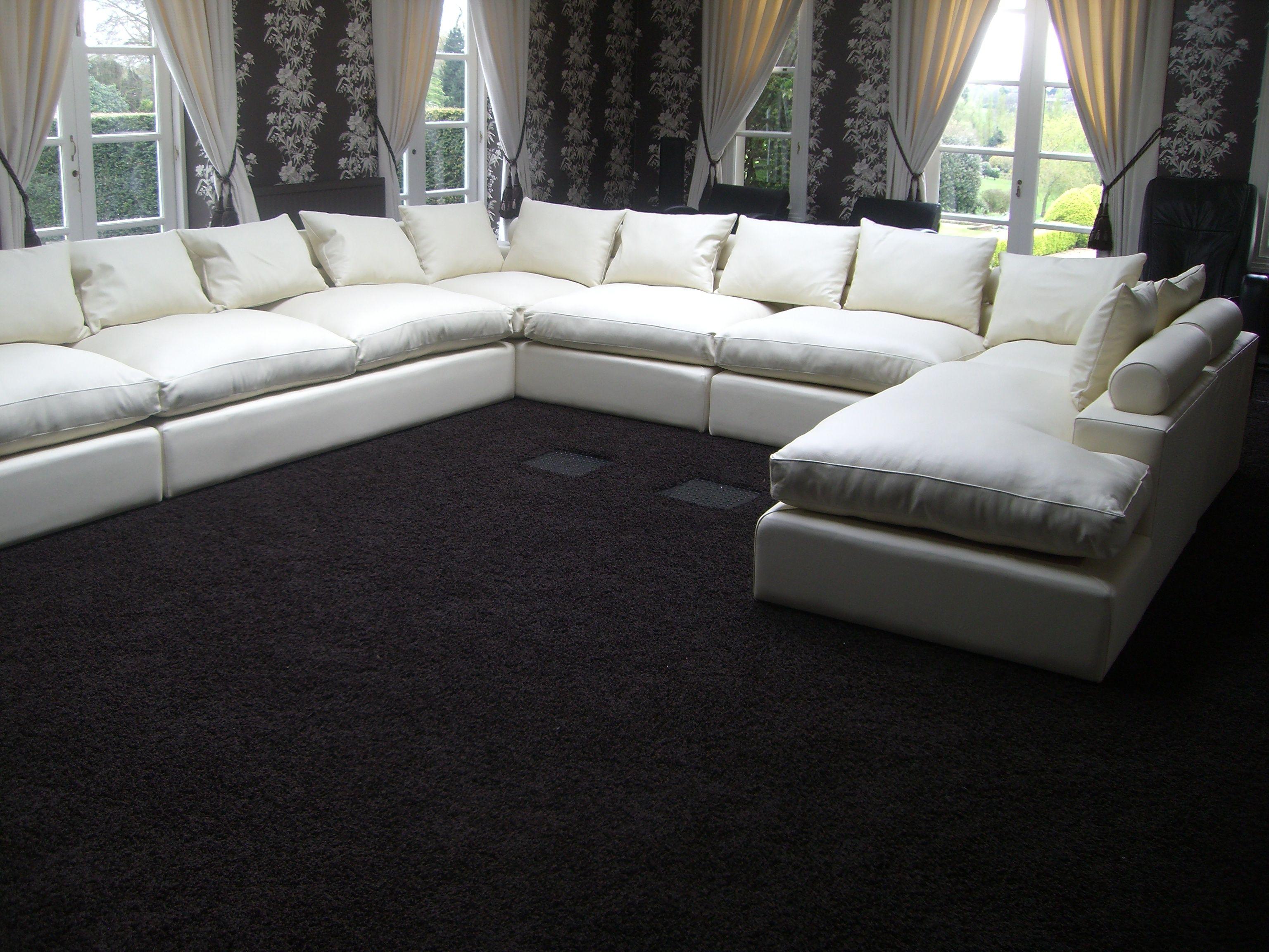 Avignon Modular U-Shaped Sofa | U shaped sofa, White