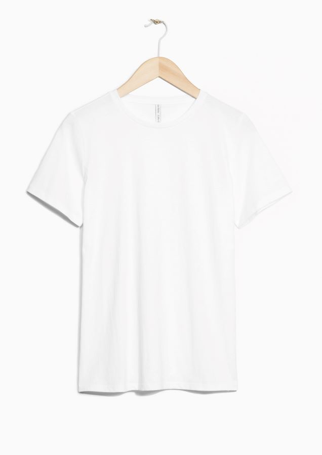 28e8050b93b   Other Stories image 1 of Organic Cotton T-shirt in White