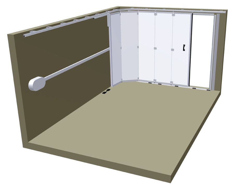 Porte de garage sectionnelle lat rale soprofen portes for Porte de garage sectionnelle sur mesure hormann