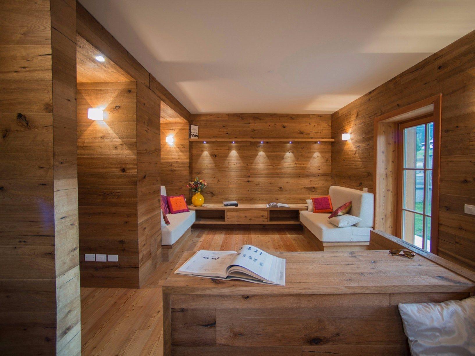 Faretti travi legno design per la casa idee per interni con come