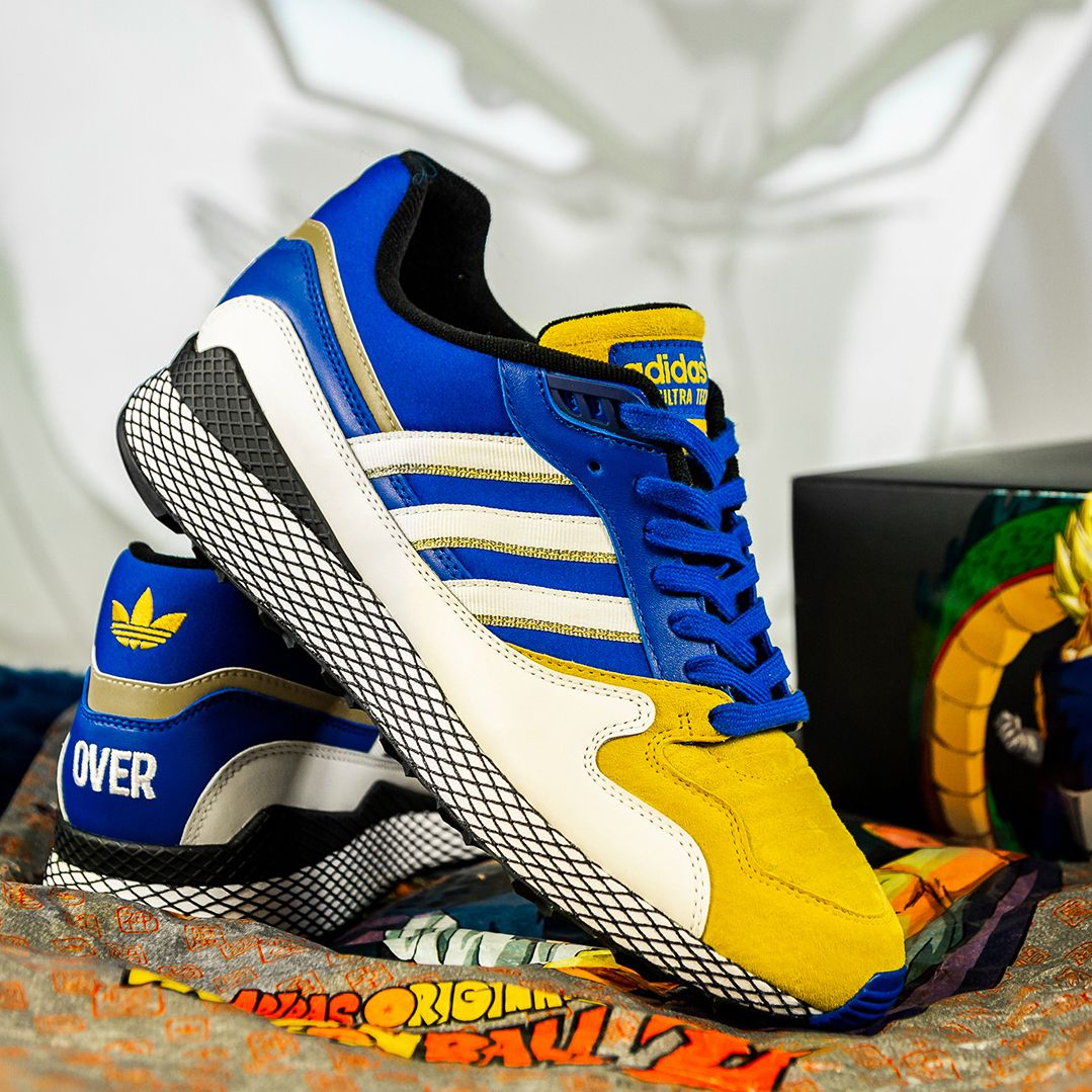 Dragon Ball Z x adidas ZX 500 RM Goku Grailify