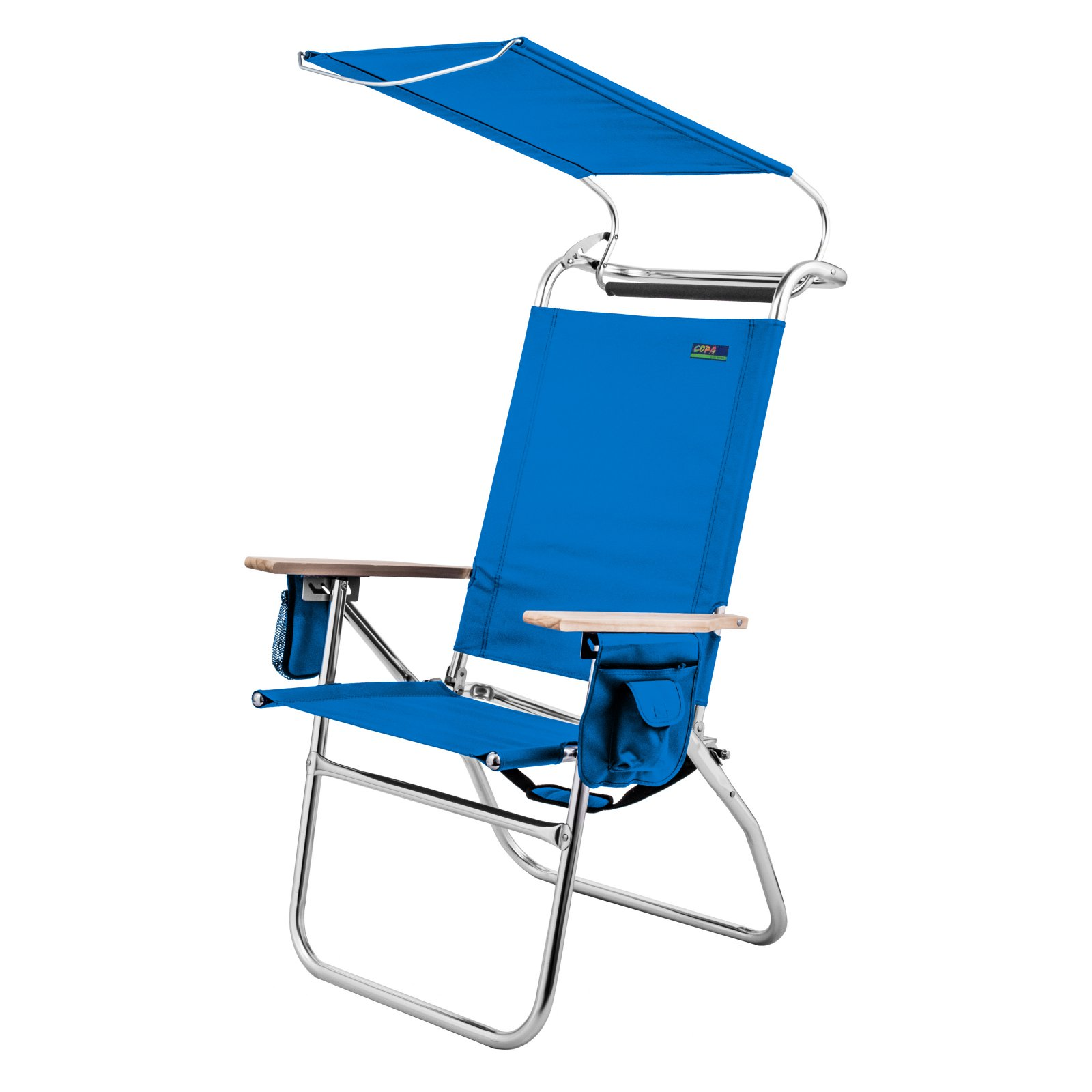 Magnificent Outdoor Copa 4 Position Big Tycoon Canopy Beach Chair Blue Home Interior And Landscaping Ferensignezvosmurscom