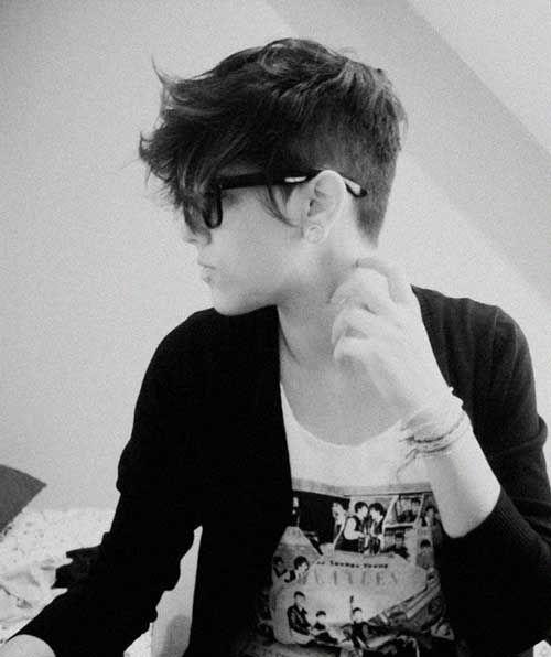 23.Longer Pixie Haircut