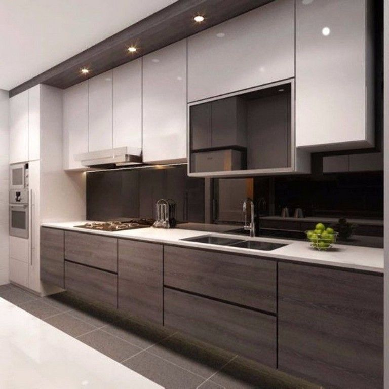 52 Stunning Modern Kitchen Cabinets Ideas Latest Kitchen Designs Kitchen Cabinet Design Kitchen Room Design