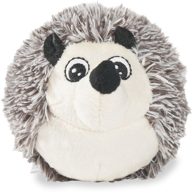 Petlou Ez Squeaky Hedgehog Ball Plush Dog Toy Small Dog Toys