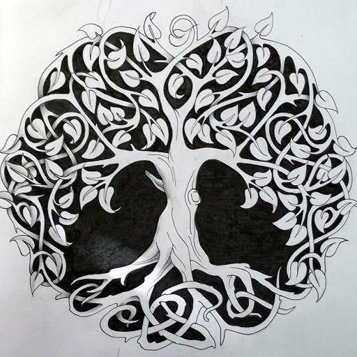 Celtic Tree Of Life 1 By Design D4dm5we Jpg Arbre Celtique