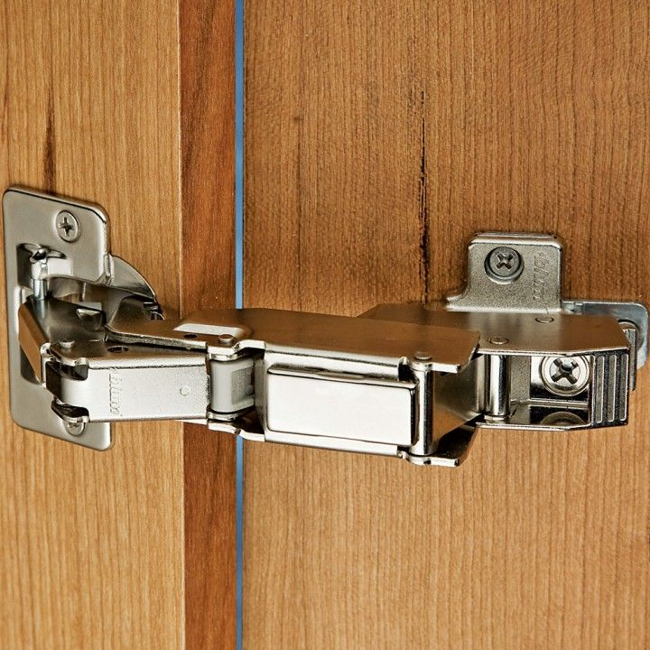 Blum® 170° Snap Close Clip Top Frameless Inset Hinge | Bisagras ...