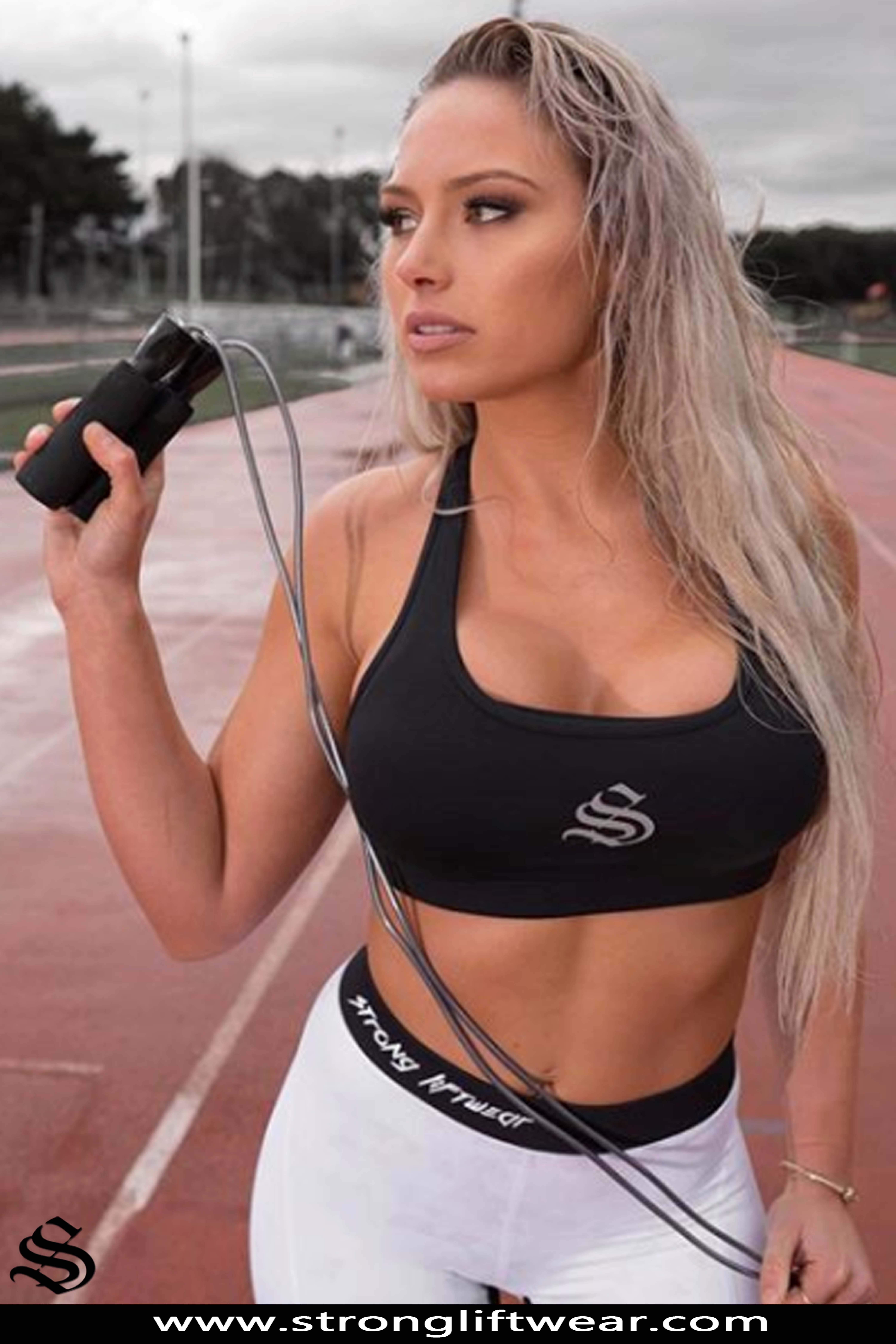 519fe288ffb5b Womens Sport Bra - Essential Racer- Black │gym wear │fitness wear │fitness  clothing │fitness │outfits │workout dress │gym outfits │workout outfits ...