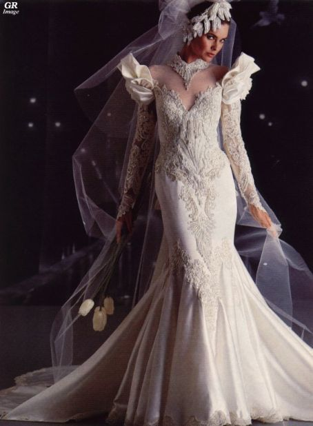 Carol Alt Fairy Wedding Dress
