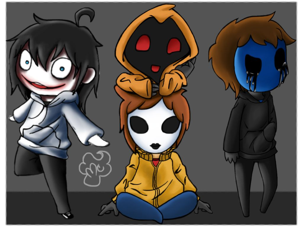 CreepyPasta: Quad Squad by imMurderCupcake on DeviantArt
