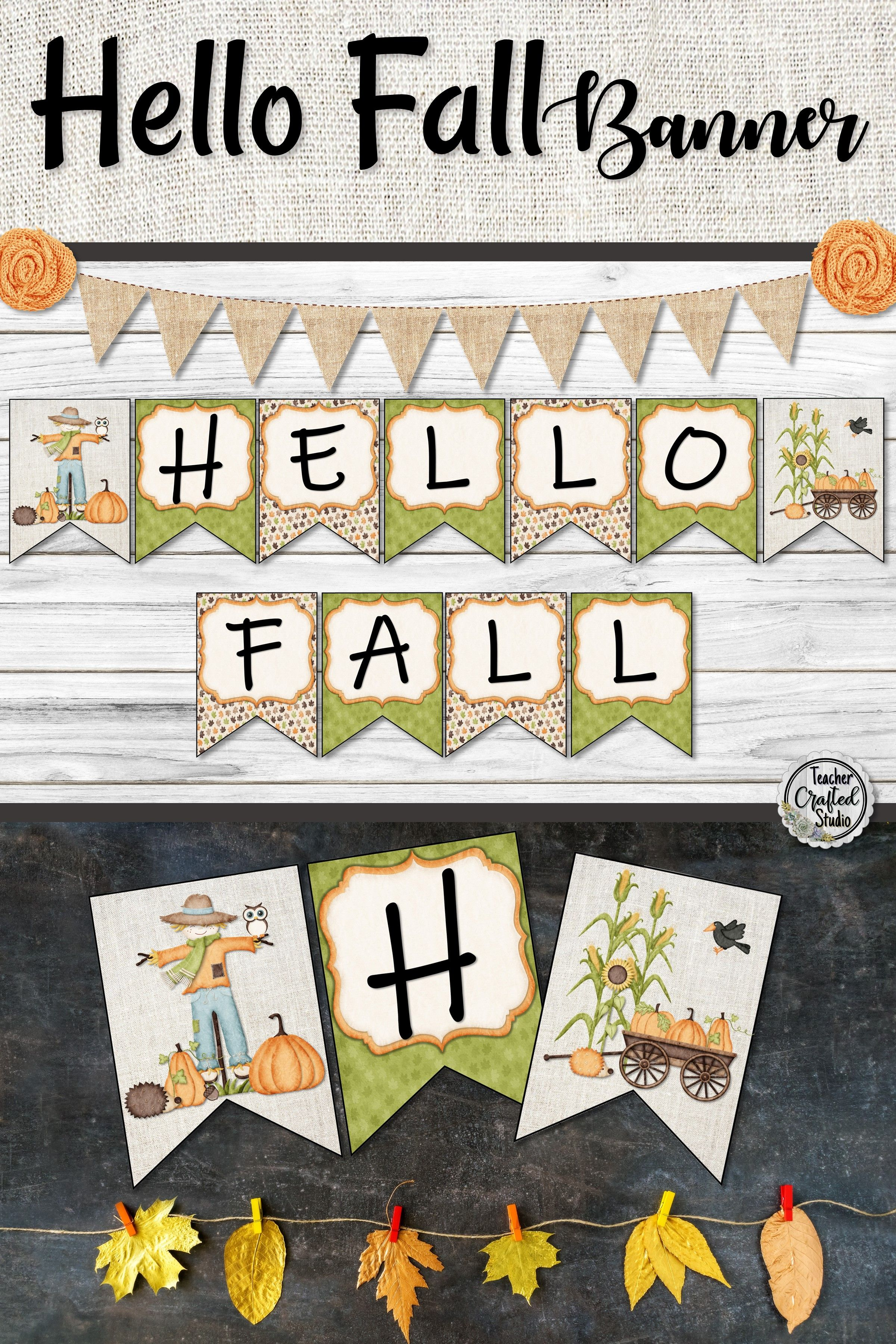 Hello Fall Banner