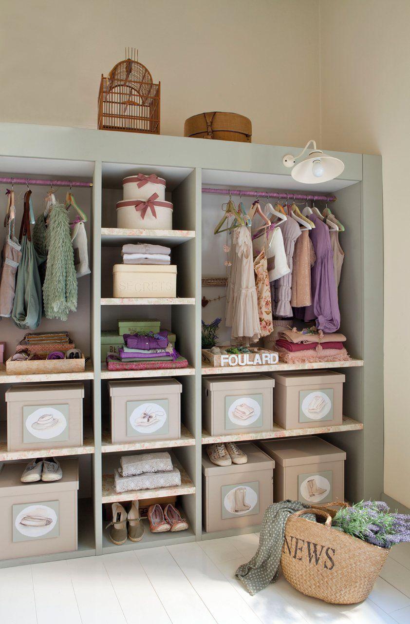 El dormitorio ideal de una adolescente   dressing   Dressing ...