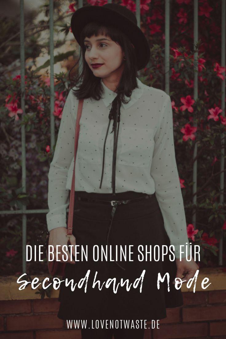 Secondhand Online Shops • lovenotwaste • Nachhaltigkeit im Alltag