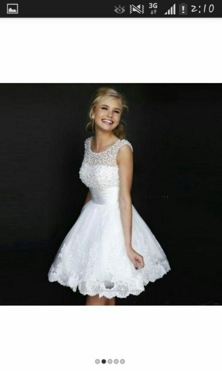 83862bf04 Vestido Civil Bordado En Perlas -   769