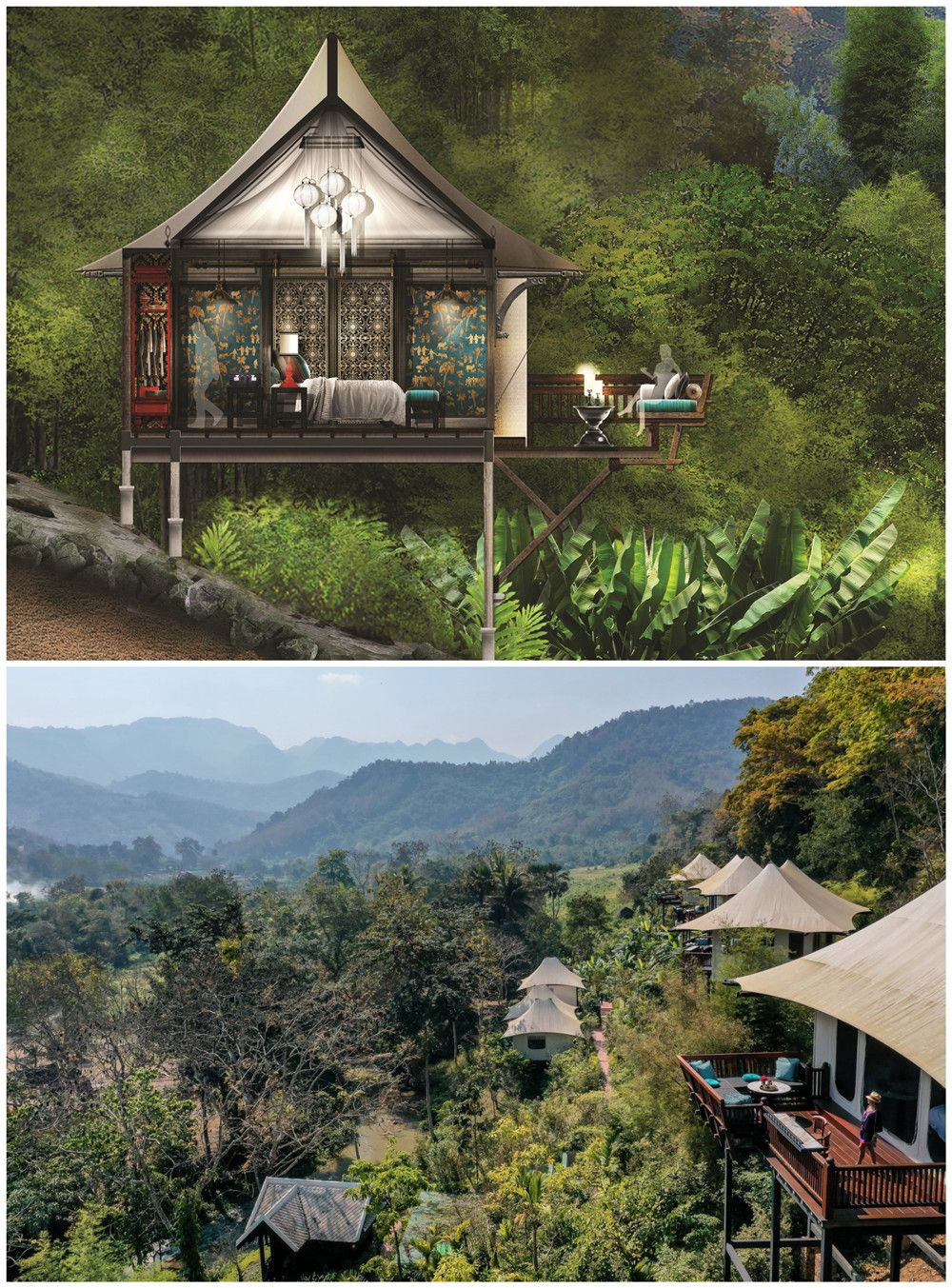 Rosewood Resort with Luxury Tents opens in Laos | Forest ...